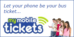 Let your phone be your bus ticket.  Click here for details